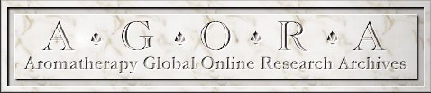 AGORA--Aromatherapy Global Online Research Archives